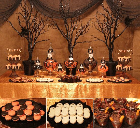 Halloween buffet | 8a6fc4a4c3b369d1ab85205d83a8371a.jpg (halloween birthday treats)