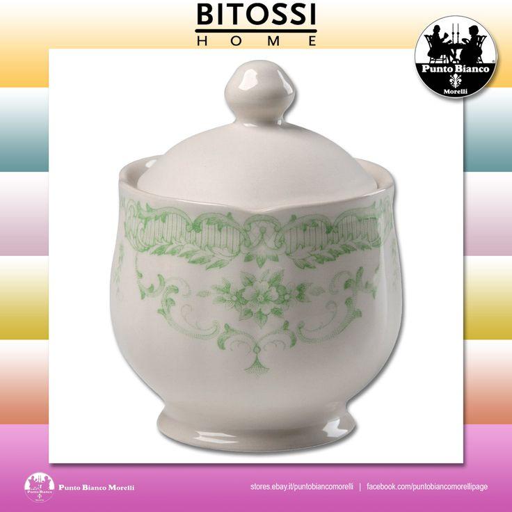 BITOSSI HOME. ROSE Zuccheriera con coperchio | Sugar bowl with lid
