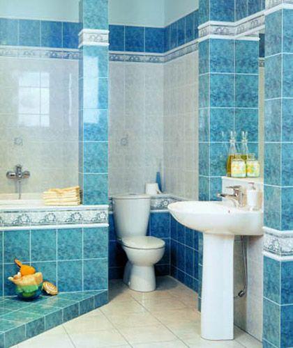 Плитка для ванной комнаты - 48