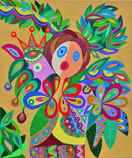 Mimi Revencu Mirabilism Art Dimisca Studio/Gallery Happy Art