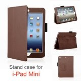 iPadCaseReview.com: Elsse (TM) Premium PU Leather Folio Case with Stand for iPad Mini / the new iPad nano (mini iPad) 7.9 inch Tablet (Support Auto Sleep / Wake Function) (Brown), $5.99