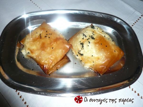Φέτα με μέλι & σούσαμι #sintagespareas