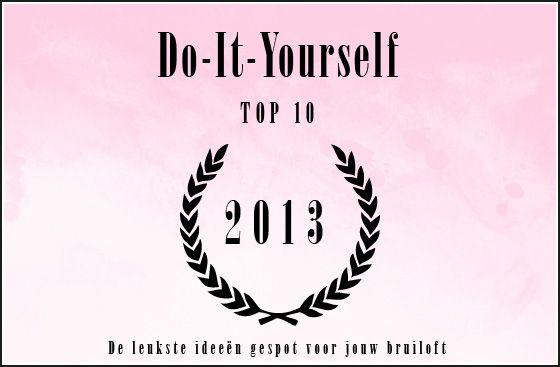 Met een creatieve knal het jaar uit {top-10 DIY ideeën 2013} - Pinterested @ http://wedspiration.com.