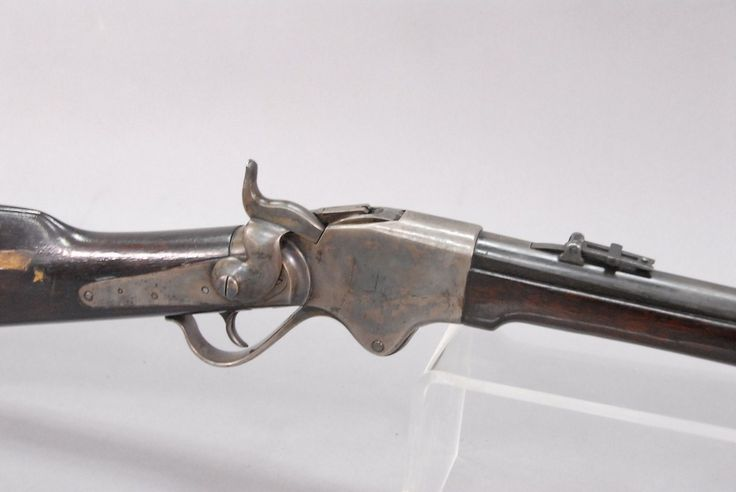 Spencer repeating rifle with Confederated markings, American Civil War