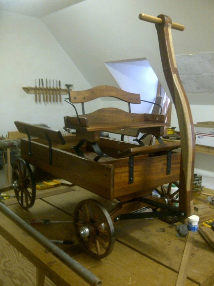 Buckboard Wagon Kit - WoodWorking Projects & Plans