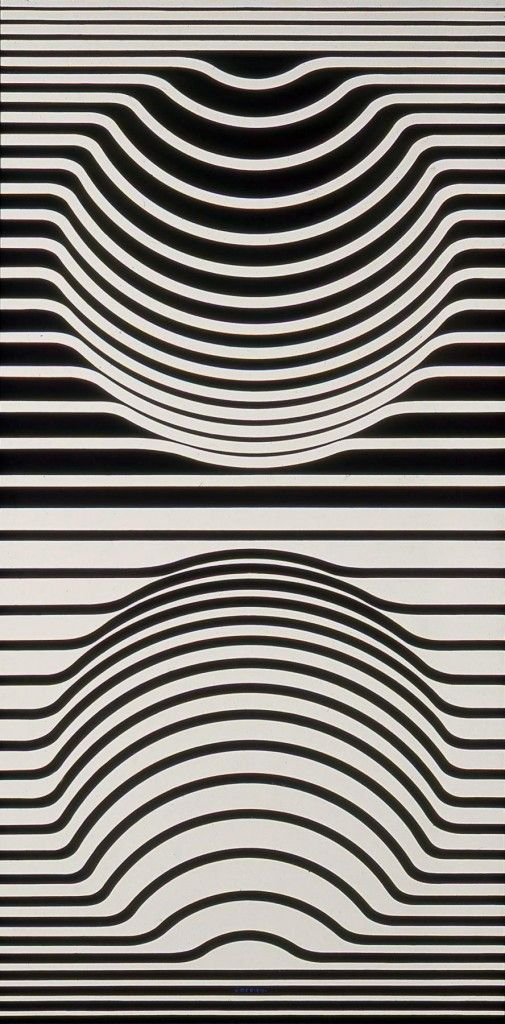 Flipped and reversed ..:: Temple of Light ::..: Vasarely Victor: