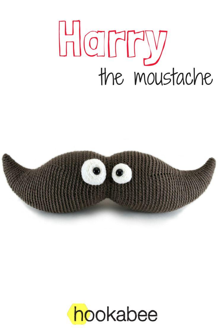 10 best body part amigurumi images on pinterest amigurumi knit harry the moustache amigurumi crochet pattern by hookabee hookabee bankloansurffo Images