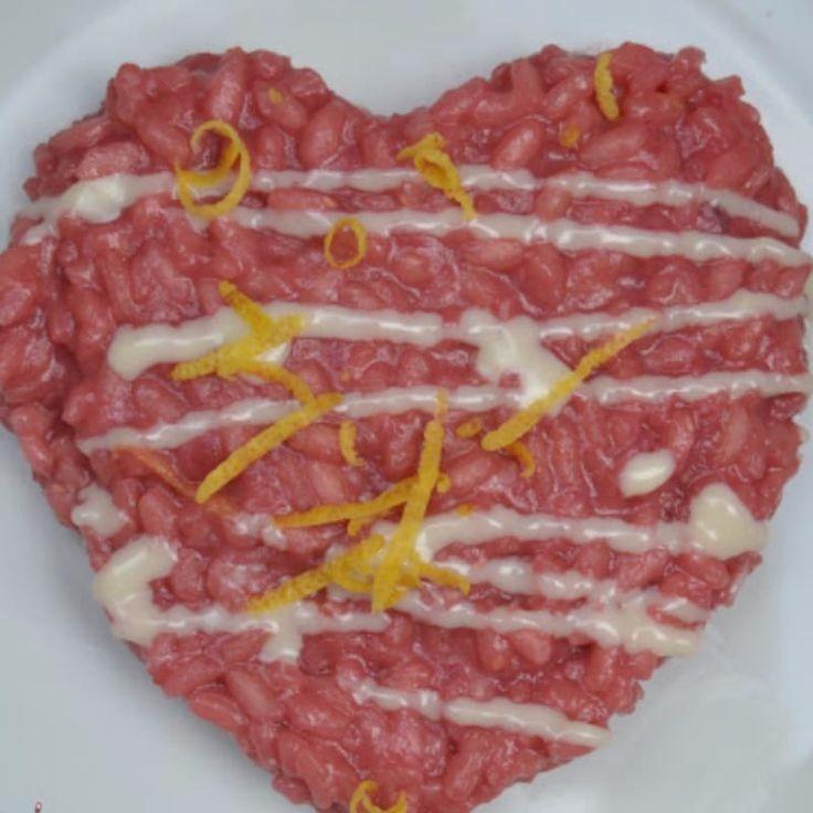 Un cuore di barbabietola e Castelmagno per un San Valentino dolce e fuori dalle regole !  ( una ricetta di Lericette Dicasaciarcia )