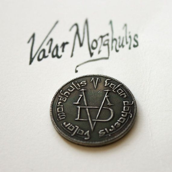 Iron Coin of the Faceless Man Valar Morghulis by ShirePostMint