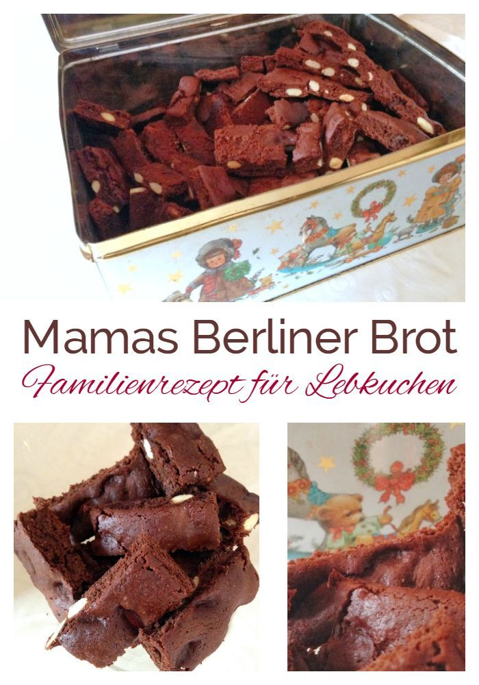 Mamas legendäres BERLINER BROT Rezept für leckeren Lebkuchen. Familienrezept nach alter Tradition zum Advent. https://einfachstephie.de/2013/11/16/lebkuchenrezept-meine-mamas-legendaeres-berliner-brot/