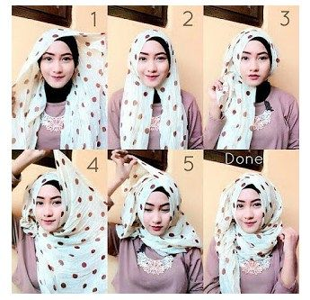 Koleksi Cara Memakai Hijab Modern dengan Gaya Berhijab Yang Modis dan Terbaru  #hijab #hijabers #muslimah #hijabfashion #hijabstyles #islam #hafana http://hafana.com