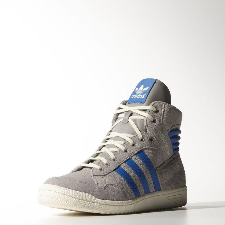 adidas Pro Conference Hi Shoes - Grey | adidas UK