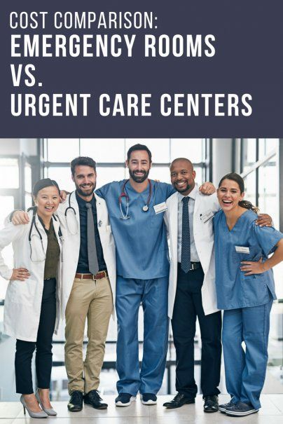 Cost Comparison: Emergency Rooms vs. Urgent Care Centers | Medical Expenses Explained | Healthcare Cost Information