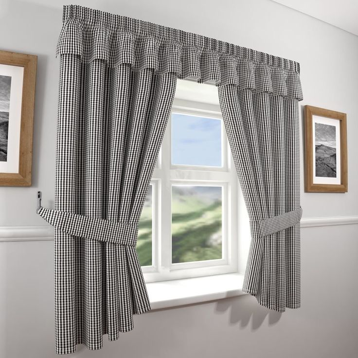 1000+ Ideas About Black White Curtains On Pinterest
