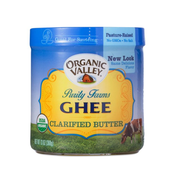 Purity Farms Organic Ghee Clarified Butter www.theteelieblog.com  Through a traditional Indian method, Purity Farms cooks the butter until the water and milk solids are removed, clarifying the butter. The result is a superb tasting, traditional Ghee—a rich, golden, semi-soft spread for the best in cooking, baking, or sautéing. #thrivemarket