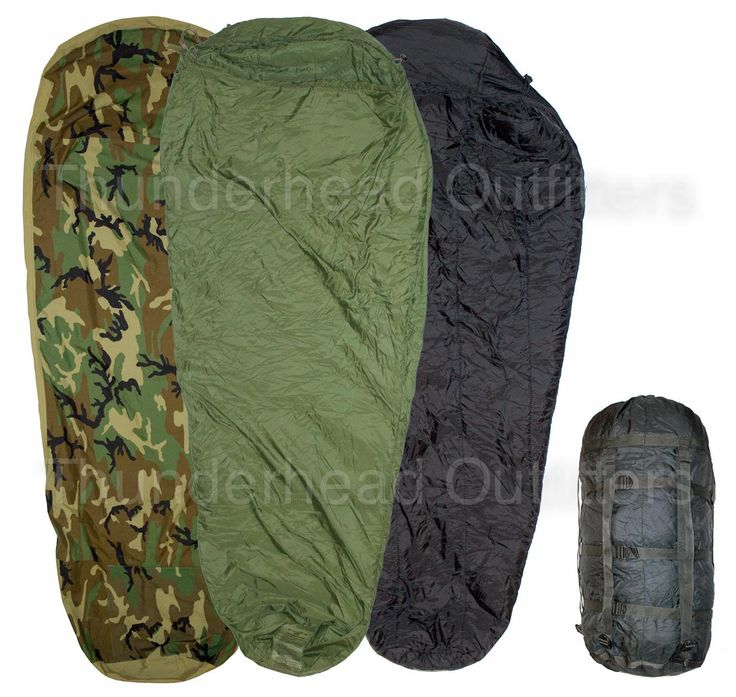 US Military 4-Piece Modular Sleep System (MSS), Woodland