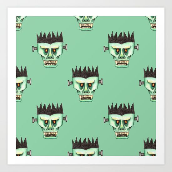Franky Art Print by Sil Elorduy - $16.99