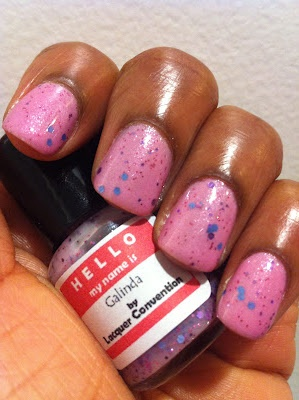 Lacquer Convention - GalindaManicures, Girly Pink, Lacquer Convention, Ultra Girly, Polish Obsession, Galinda