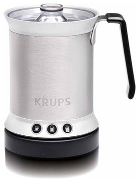 Krups XL2000 Electric Milk Frother - modern - Small Kitchen Appliances - Chef's Corner Store