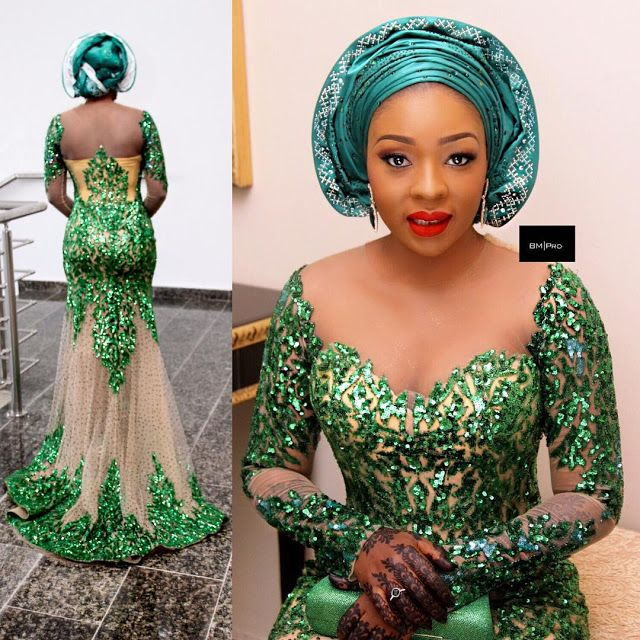 Lovely wedding guest aso ebi styles for African dresses for wedding guests