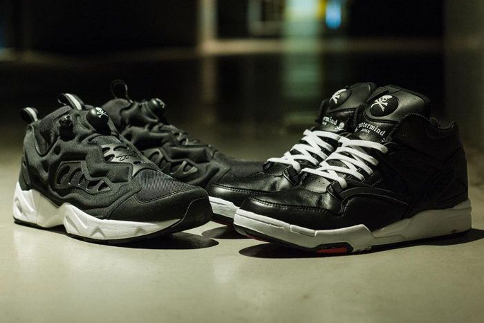 a03379ac5e7b ... mastermind Japan x Reebok Pump Omni Lite Instapump Fury Road Sneakers  Pinterest Mastermind japan ...