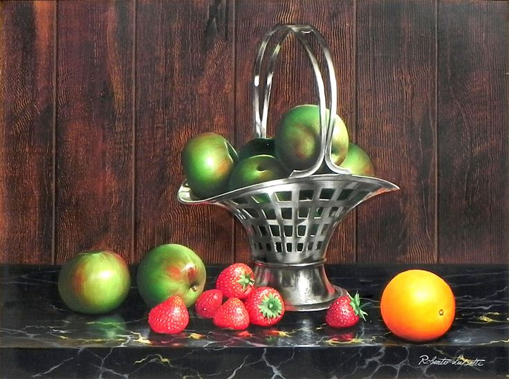 Roberto Lupetti. Apples Strawberries And Oranges