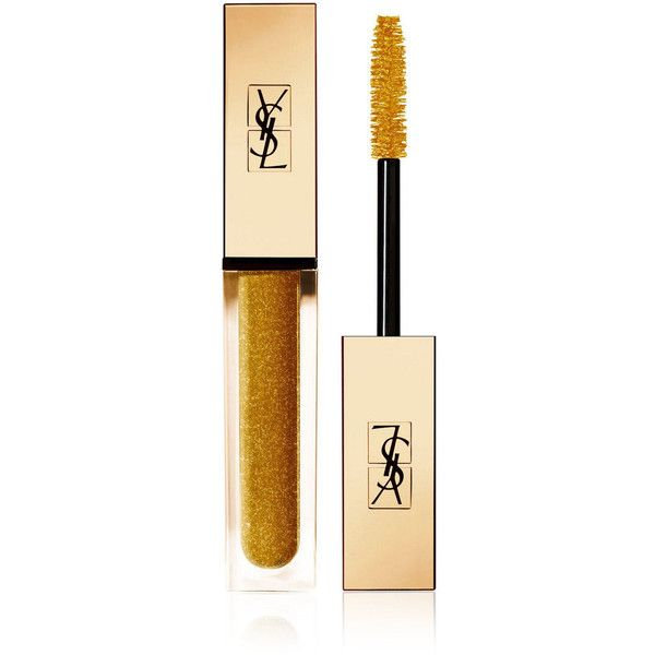 Yves Saint Laurent Beauty Women's Mascara Vinyl Couture ($29) ❤ liked on Polyvore featuring beauty products, makeup, eye makeup, mascara, gold, glossier mascara, conditioning mascara, yves saint laurent, yves saint laurent mascara and glossy eye makeup