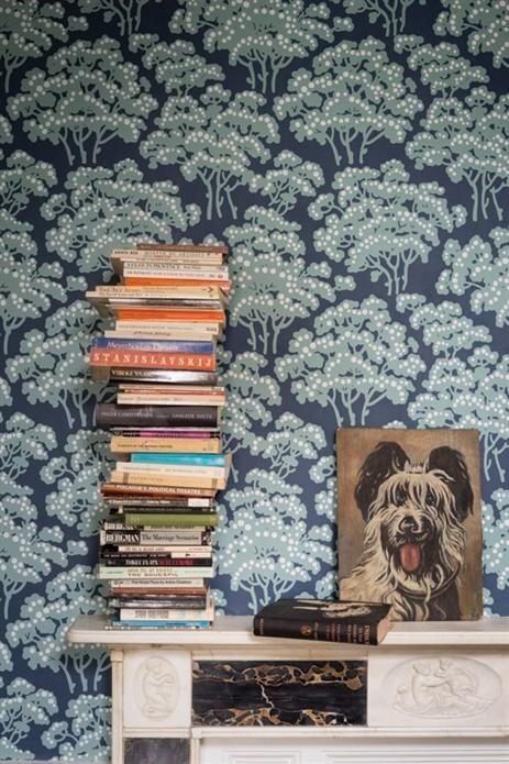 FARROW & BALL Wallpaper (Hornbeam)  Find it at Palette Paint and Home!  https://palettepaint.com/