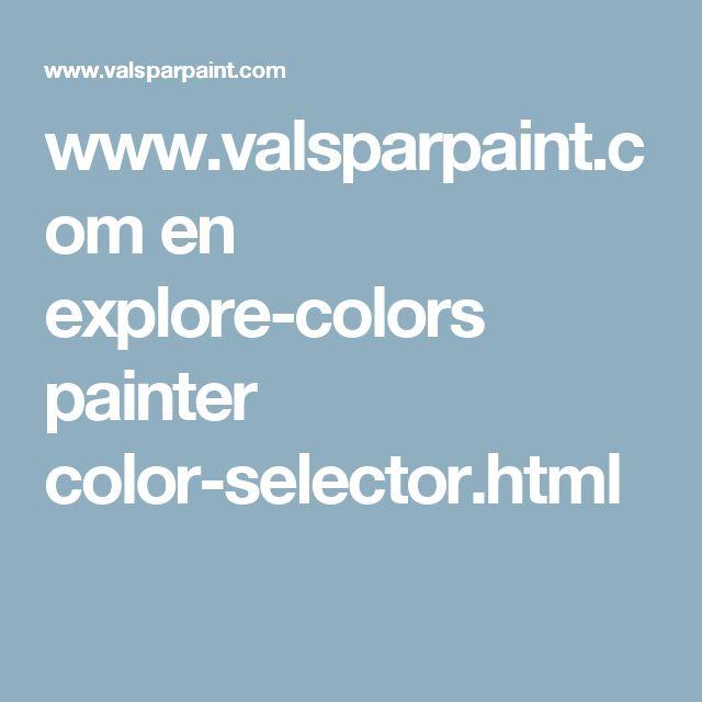 color selector virtual house painter valspar valspar on valspar virtual paint a room id=52018