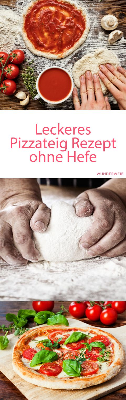 Pizzateig ohne Hefe
