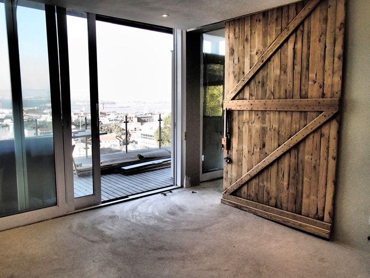 Door made by Carter Construction