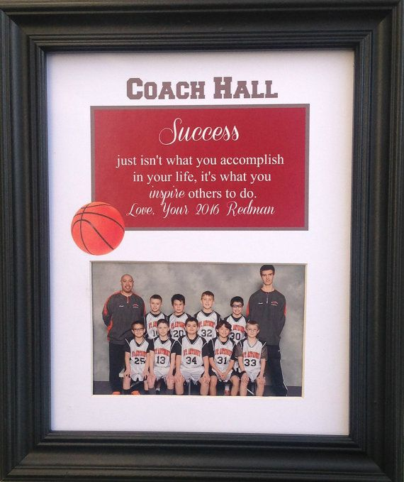 Thank you so much for visiting my Shop!    Coach End of The Season thank you Personalized Gift   Purchase any Three 8x10s and get one FREE!