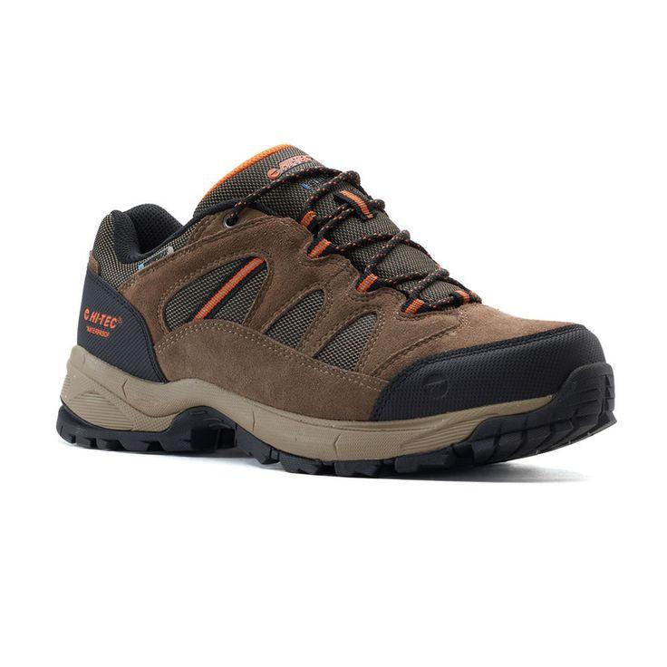 Hi-Tec Ridge Low Men's Waterproof Hiking Boots, Size: medium (10.5), Med Brown