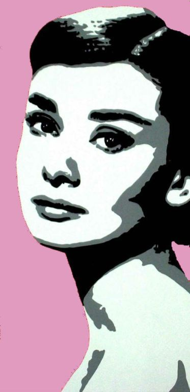 pop art audrey hepburn