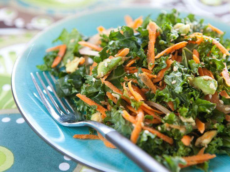 Kale, Carrot and Avocado Salad | Recipe