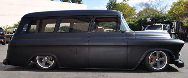 1955 Chevrolet Suburban 2 door custom for sale - Chevrolet ...