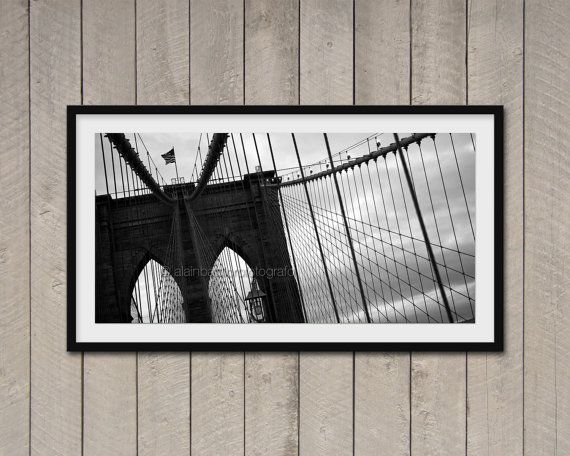 Fotografia di New York Brooklyn Bridge stampa di ArchiPhoto, €24.00