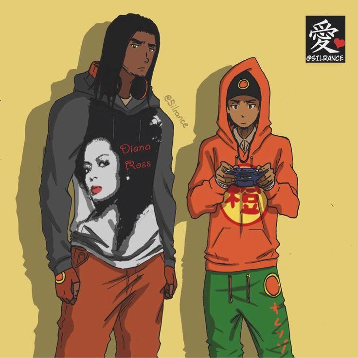 Pin By Aaron McLaughlin On Anime/Manga (Dark Skin