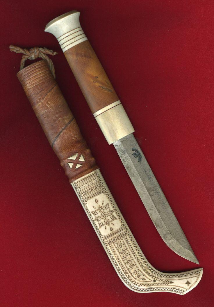 The Blade Blog: Sami Knife by Lennart Sammelin, Vettasjärvi - Sweden