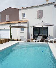 In de buurt van Royan mooie nieuwe huis van standing - Verwarmd zwembad -
