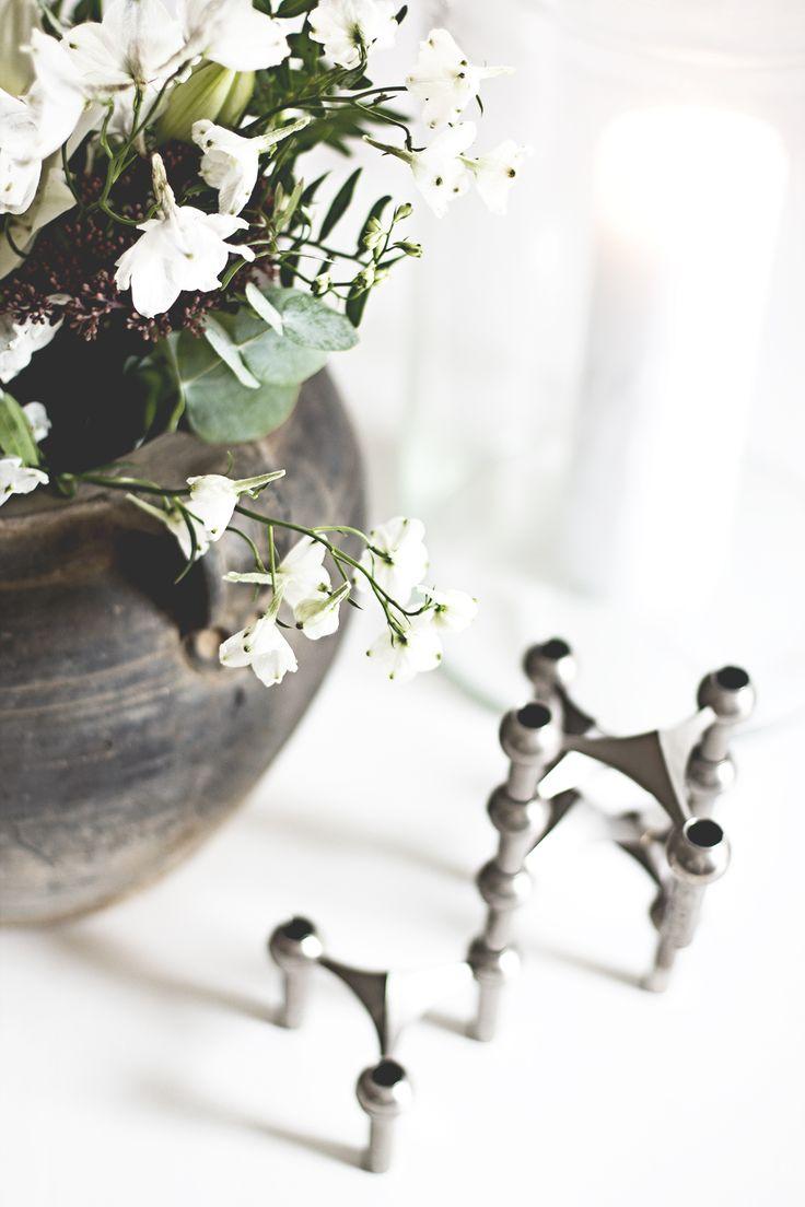 Details at home. Vintage pot from Snowdrops copenhagen.