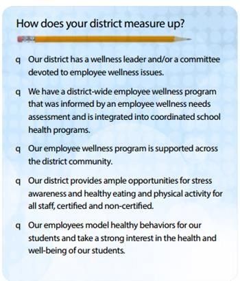 workplace wellness best practices compiled by the colorado education initiative - Taking Initiative In The Workplace