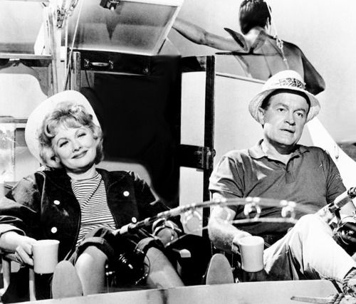 Lucille Ball And Bob Hope Photographed For The Facts Of Life 1960