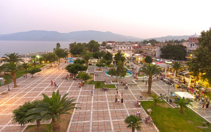 Panoramic view of #Asprovalta #Greece !!! http://ilionluxurystudios.com/