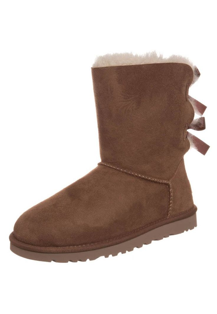 UGG Australia - BAILEY BUTTON BOW - Stiefelette - chestnut