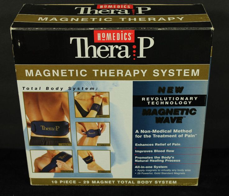 HoMedics Thera P Magnetic Therapy System Total Body Pain