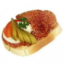 Výsledek obrázku pro obložené chlebíčky