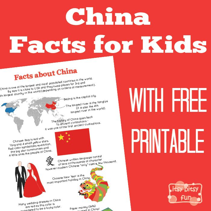 There are so many interesting facts about China! Let's learn with facts about China for kids! I love making these fun fact for kids printables so much, I admit I do learn a thing or two while doing them too! As the Chinese New Year approaches (I also have some fun printable Chinese dragon masks...Read More »