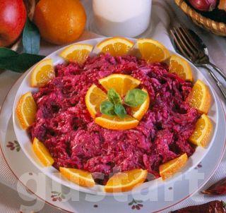 Receptek Lajos Mari konyhájából - Almás-narancsos céklasaláta