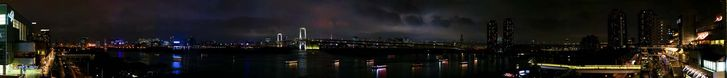 Tokyo night view from Odaiba